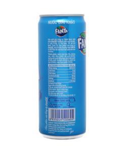 Fanta Blueberry Flavor Soft Drink 1