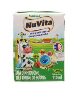 Fresh Milk Nuvita With Sugar