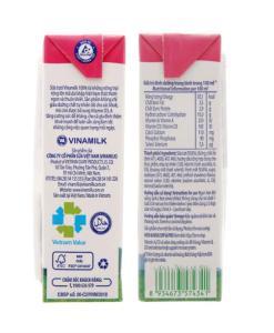 Fresh Milk Vinamilk Strawberry Flavor 1