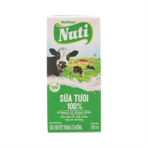 Nuti With Sugar Fresh Milk