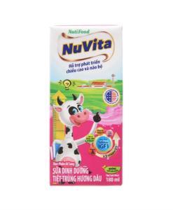 Nuvita Fresh Milk Strawberry Flavor