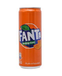 Orange Flavor Soft Drink Fanta