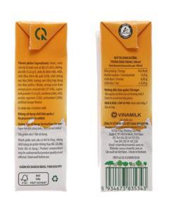 Orange Milk Smoothie Vfresh 1
