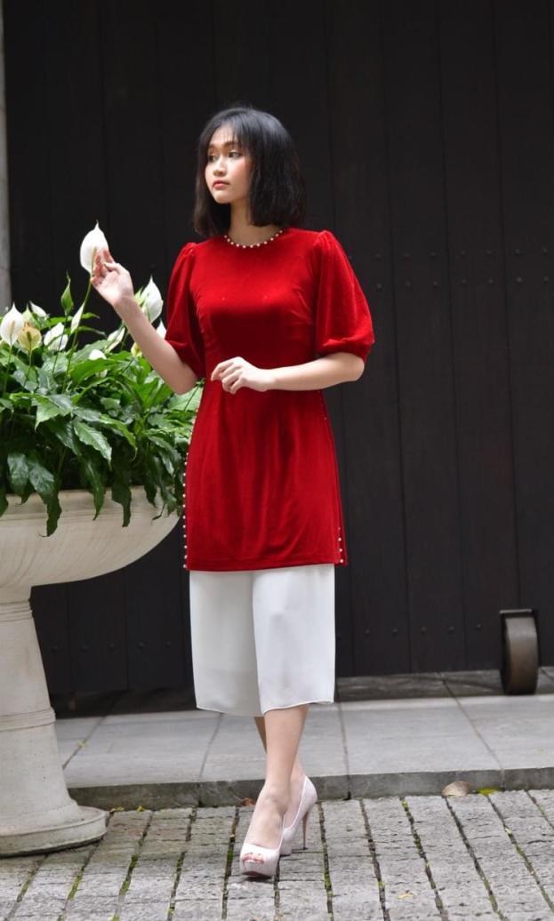 Model Fashion Ao Dai 2