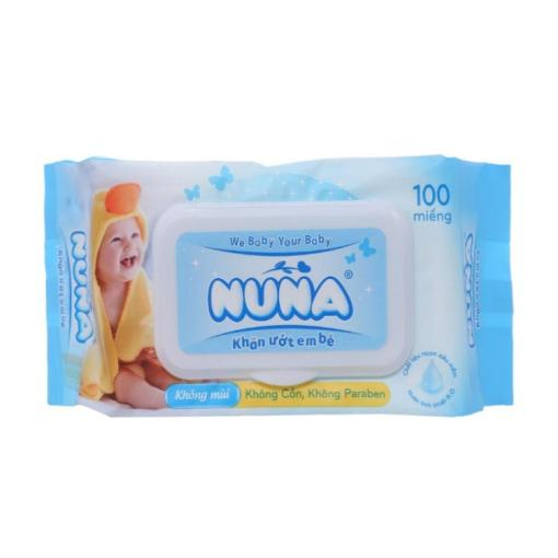Nuna Unscented Soft Baby Wipes