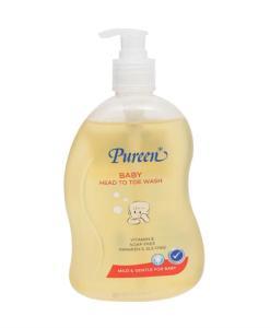 Pureen Yogurt Vitamin Baby Wash
