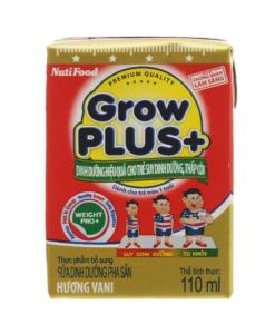 Vanilla Milk NutiFood Grow Plus+
