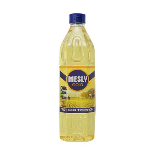 Mesly Gold Pure Soybean Oil