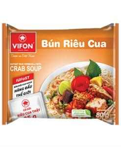 Rice Vermicelli With Crab Soup