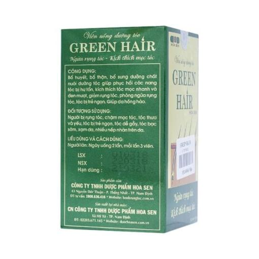 Hoa Sen Green Hair 60 gélules 1