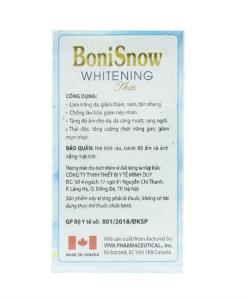 Boni Snow blanquea la piel 1