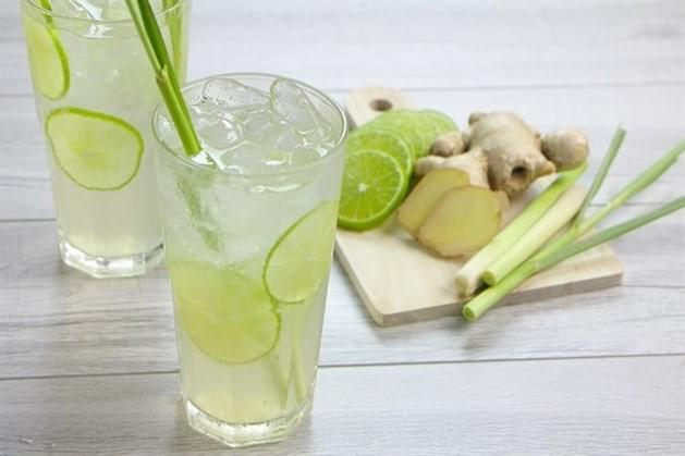 Lemongrass ginger juice