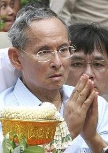 beledigen van de Thaise koning