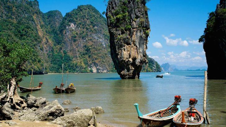 Op vakantie met de Thai