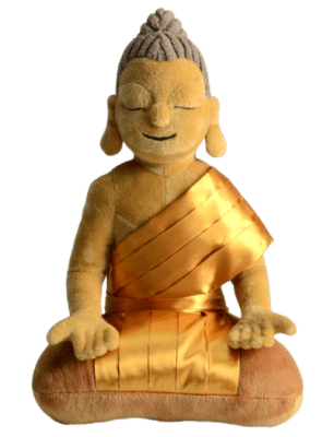 My first Buddha: knuffelen met Boeddha
