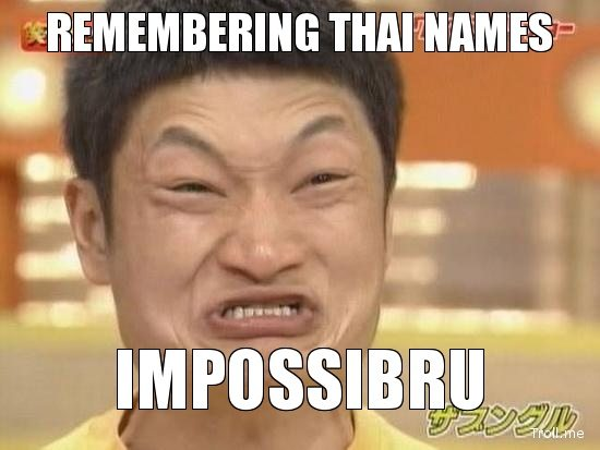 Thaise namen