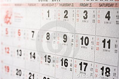 Paniek: Chinese kalender klopt niet