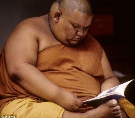 Dikke monniken moeten op dieet