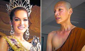 Winnaar Miss Tiffany Universe is monnik