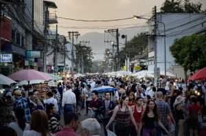Zondagsmarkt van Chiang Mai