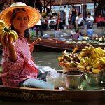 drijvende markt van Damnoen Sadua