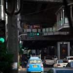 Verkeerslichten in Bangkok