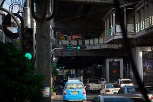 Bijzondere verkeerslichten in Bangkok