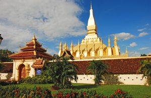 Leven als God in Vientiane