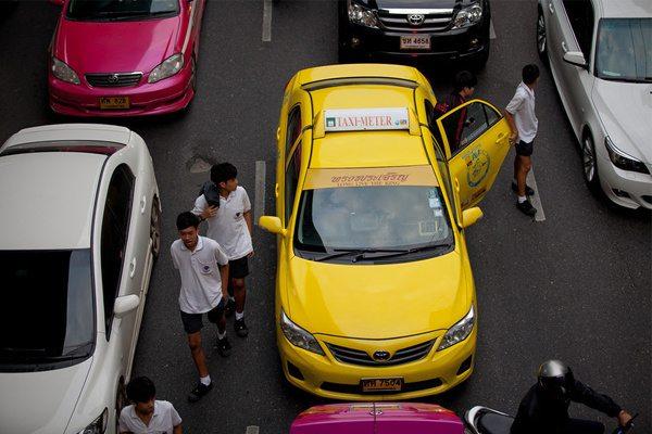 thaise taxichauffeurs