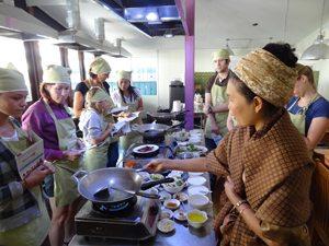 Vegetarische kookschool May Kaidee in Bangkok