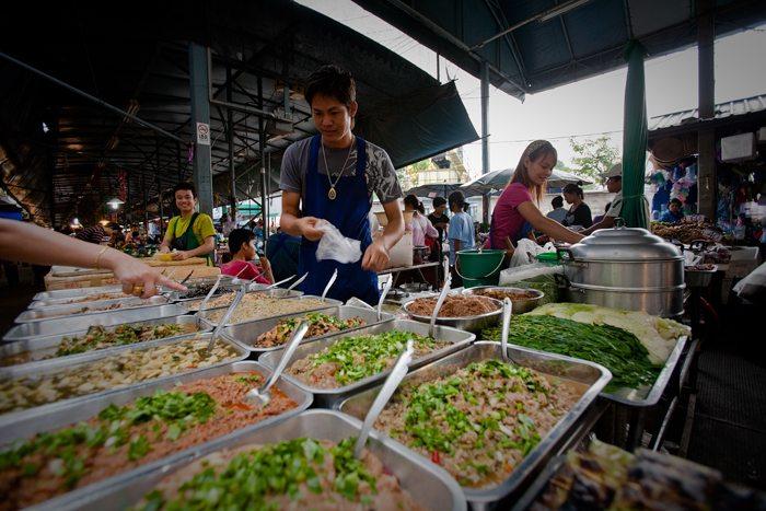 populairste markten van Thailand