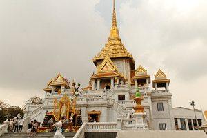 Wat Traimit met de gouden Boeddha