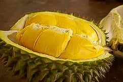 Durian, een exotisch maar stinkende vrucht