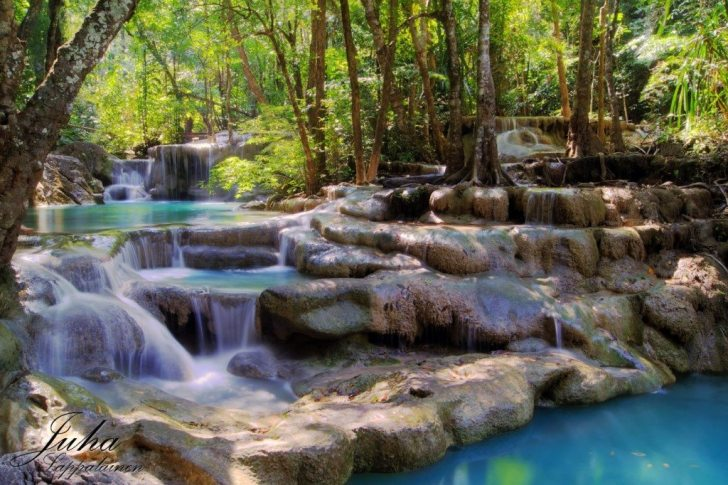Erawan watervallen