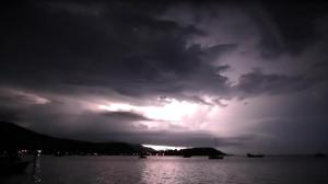 onweer op koh samui