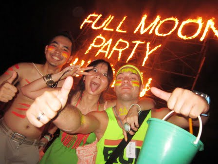 Thaise Full Moon Party naar Castricum