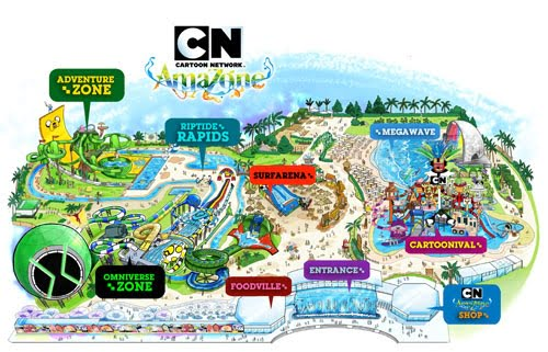 Cartoon Network Amazone Waterpark Pattaya