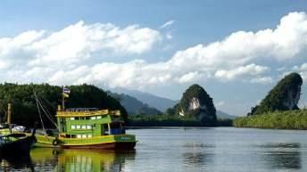 Khao Khanap Nam: kenmerkend Krabi