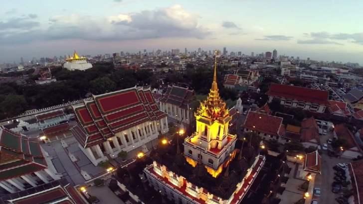 De tempels van Bangkok (video)