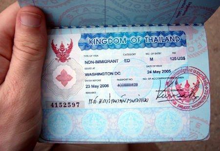 Visum voor Thailand regelen via site