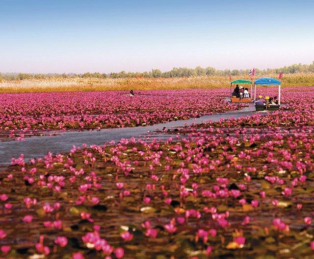 vijf mooiste meren van Thailand