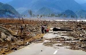 Foto's tsunami 2004