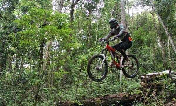 mountainbiken in Chiang Mai