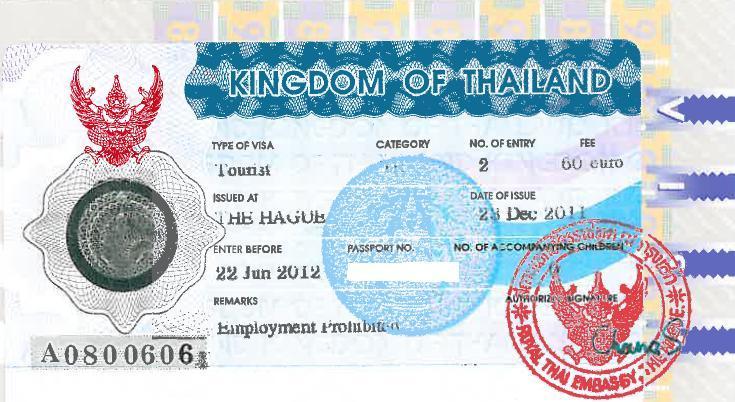 Multiple-entry visum voor 6 maanden