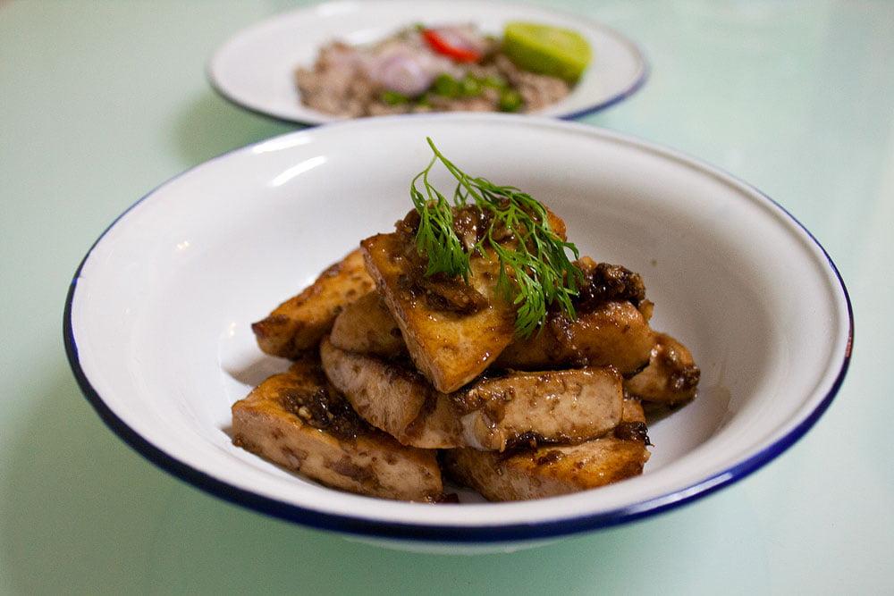 thaise vegetarische gerechten
