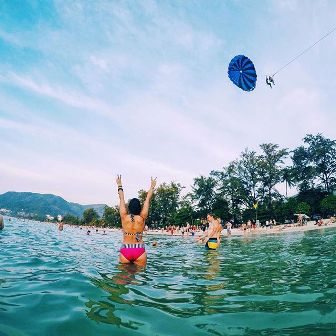 Zwemmen in de Thaise zee: let goed op!
