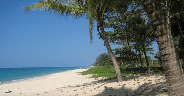 De stille stranden van Phang Nga