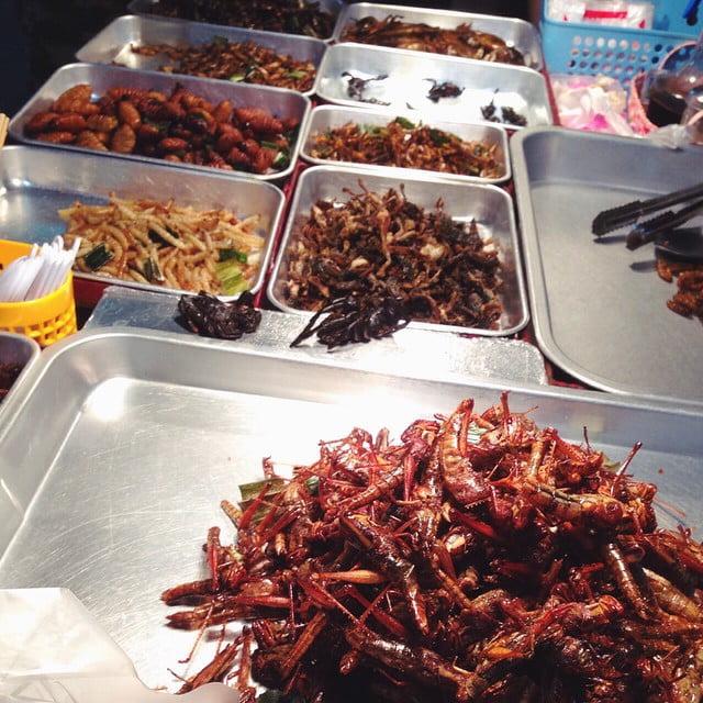 Thaise snack insecten