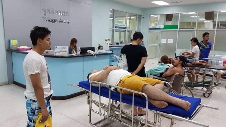 Veel gewonden bootongeluk bij Koh Samet