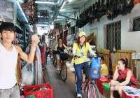 fietsen in bangkok